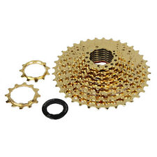 Sunshine 11-36T 10 Speed Rear GOLD Cassette Sprocket Freewheel For Mountain Bike