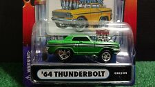 Muscle Machines 64 Ford Thunderbolt Light Green 1:64  Diecast 1964  GS02-04