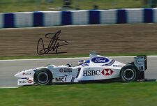 Jan Magnussen Hand Signed 12x8 Photo HSBC Stewart Ford F1 1.