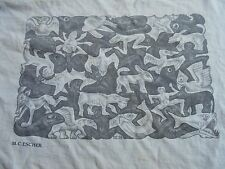 RARE ORIGINAL 1991 MC ESCHER T Shirt PSYCHEDELIC Illusion DOUBLE SIDED III - 51