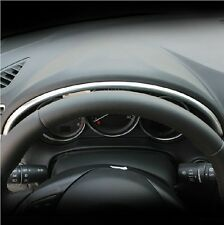 ABS Chrome Matte Meter Panel frame cover trim for LHD Mazda CX-5 CX5 2012 - 2016