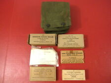 Vietnam Era US Army Aviator Camouflaged First Aid Kit Complete from the 1960's