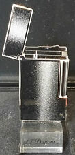 ST DUPONT LIMITED EDITION METEORITE LINE 2 LINGE 2 LIGHTER LACQUER PLATINUM NEW