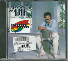 Lionel Richie. Can't Slow Down (1983) CD NUOVO All Night Long (All Night). Hello