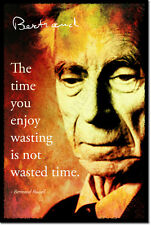 BERTRAND RUSSELL ART PHOTO PRINT POSTER GIFT PHILOSOPHY QUOTE