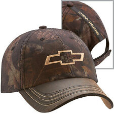 Chevy Trucks Camo Twill Hat