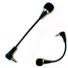 Neu Mini 3.5mm Jack Flexible Mikrofon für PC Laptop Notizbuch Skype Yahoo