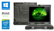 "GETAC B300 13"" ULTRA RUGGED LAPTOP 8GB RAM INTEL i7 2.8 GHz 1TB HDD WINDOWS 10 ."