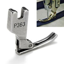 HOT Industrial Sewing Machine Zip Hinged Cording Zipper Presser Right Foot Side