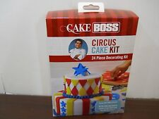 Cake Boss Circus 24 Pc  Cake Decorating Kit Cutters Tips Guides NEW!