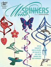 Wind Spinners Plastic Canvas Cross Stitch Chart Pattern - 7 Projects