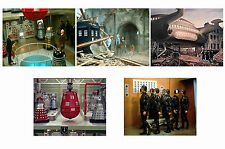 DOCTOR WHO - DALEKS INVASION EARTH 2150 - SET OF 5 - A4 PHOTO PRINTS