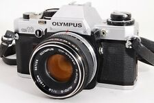 【EXC+++++】 OLYMPUS OM-10 with F.Zuiko 50mm F1.8 Lens from JAPAN #744
