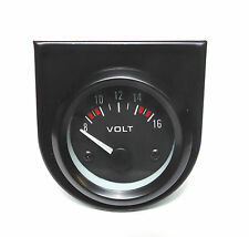 BF 52mm Volt Meter/Voltage gauge White bk-light Civic Jazz Accord type R CRX