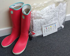 Brand New Vivobarefoot Wellington Boots, Women's Size 8, Pink Wellies