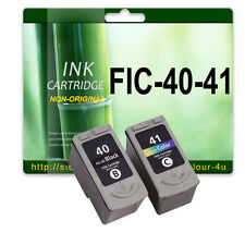 2 Ink Cartridge for Pixma iP2600 MP140 MP150 iP2200 iP2500 PG40 CL41