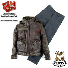 Wild Toys 1/6 Ghost Protocol_Brown Weathered Jacket Set w/ Grey pants_Now WT019C