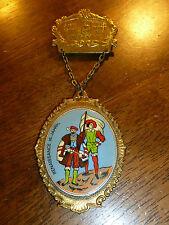 Vintage Walking Medal - Wiesental - Renaissance Men - Germany - 1977