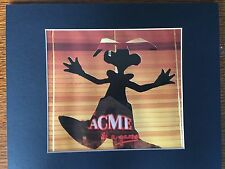 ROGER RABBIT~8 X 10 MAT PRINT~ONE WILD AND CRAZY TOON~ACME ~NEW