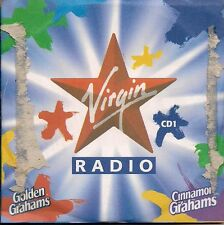 Various incl  Pulp -  Virgin Radio (CD1) Golden / Cinnamon Grahams cereal UK CD