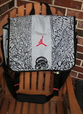 NIKE AIR JORDAN SPIZIKE BROOKLYN ELEPHANT CEMENT MESSENGER LAPTOP BAG, IPOD CASE