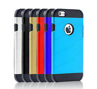 Slim TPU Hard Case Shock Proof Armor Builder Cover For Apple / Samsung Phones
