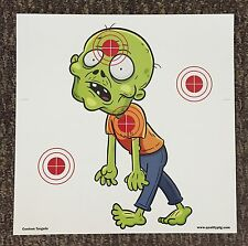 40 Zombie Paper Shooting Targets.