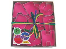 Alphabet 26 Piece 3 Inch Cookie Cutter Set
