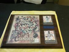 NEW YORK YANKEES WORLD SERIES CHAMPIONS 2000 PLAQUE