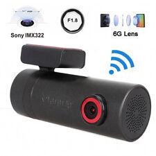 DDPAI X1 Super Mini 1080P HD WIFI Car Dash Camera Rotate BOX Remote Snap Black