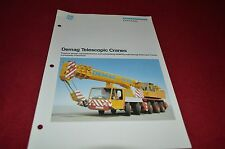 Mannesmann DEMAG Telescopic Cranes Dealers Brochure DCPA2 ver2
