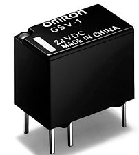 2 pcs. G5V1-24  Relais 1xU 1A 24V 3840R   OMRON  NEW