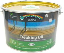 Organoil Timber Decking Oil  CLEAR 10 litre - 100% Natural