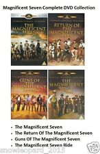 MAGNIFICENT SEVEN COLLECTION All 4 Movie Film RETURN OF GUNS RIDE New Sealed  UK