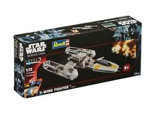 Star Wars Revell 06699 - Modellbausatz - Build & Play Y-Wing Fighter, 1:72