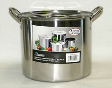 Stainless Steel Stock Pot Set 12 QT Quart Soup Beer Brewing NOTE*