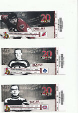 OTTAWA SENATORS VS MONTREAL CANADIENS FULL TICKET STUB 3/16/12 KARLSSON 2 ASSIST