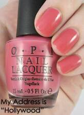 "NEW! OPI Nail Polish Vernis MY ADDRESS IS ""HOLLYWOOD"" ~ Rose Pink"