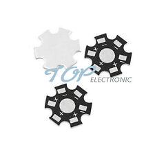 10PCS 1W 3W 5W High Power LED PCB Aluminum Star base DIY PCB 20mm