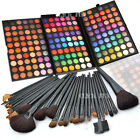 180 Colors Eyeshadow Palette Matte + 32Pcs Makeup Brushes Shimmer Cosmetic Set