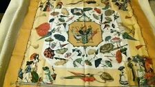 BEAUTIFUL RARE HERMES 'OMBRELLES et PABAPLUIES' SILK SCARF - NEW IN BOX