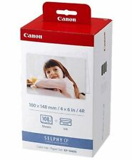 Winter Sale BRAND NEW Canon KP-108IN Color Ink And Paper Set  3115B001