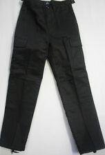 Boys Childrens Combat Cargo Trousers Bottoms Pants Beige Navy Green Pockets