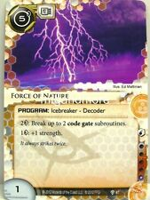 Android Netrunner LCG - 1x Force of Nature  #047 - Cyber War Runner Draft Pack