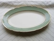 TRES ANCIEN TRES GRAND PLAT OVALE SIGNE VILLEROY & BOCH  METTLACH N°3