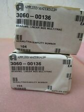 2 AMAT 3060-00136 Thomson Bearing, Linear M20 Multitrac