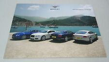 "BENTLEY 2014 ""THE CONTINENTAL GT RANGE"" SOFTBACK DEALER BROCHURE BOOK"