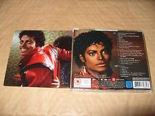 Michael Jackson - Thriller (2008) cd + dvd Ex/Near Mint Condition