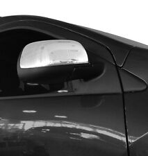 CHROME DOOR WING MIRROR TRIM SET COVERS SURROUNDS FOR DACIA DUSTER