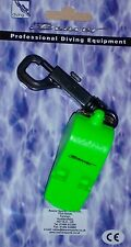 Beaver Very loud emergency Scuba Diving Whistle with snap clip be safe be heard